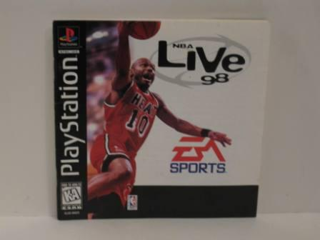 NBA Live 98 - PS1 Manual